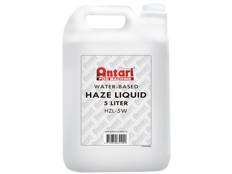 ANTARI Water based Hazer Fluid - 5L