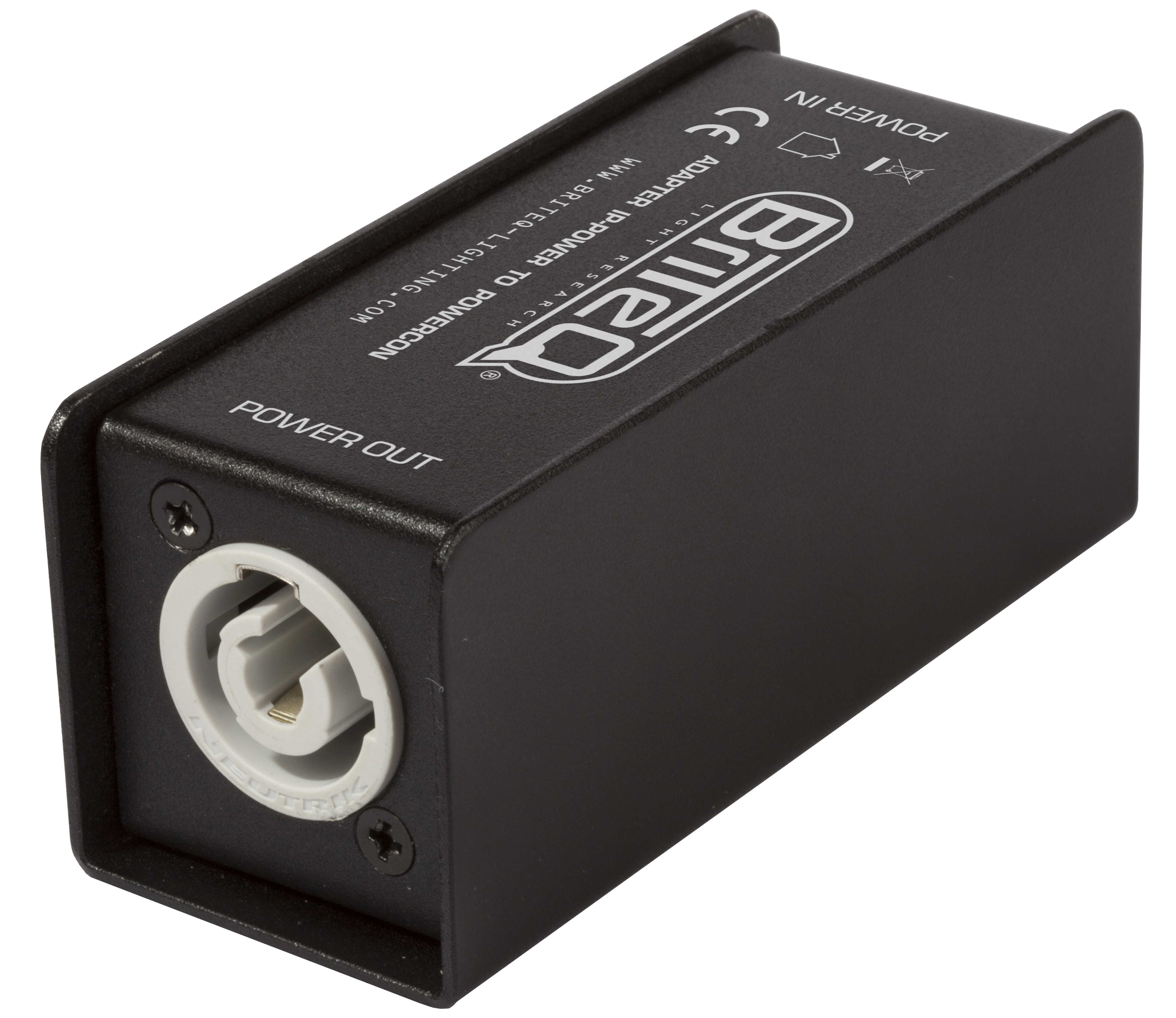 Briteq - ADAPTER IP-POWER TO POWERCON