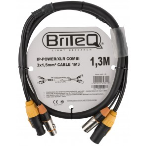 IP-POWER/XLR COMBI CABLE 1M3