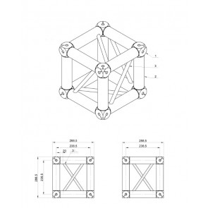 BT-TRUSS QUAT 29 - BOX CORNER