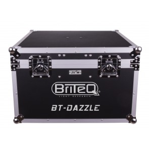CASE for 2x BT-DAZZLE - Flightcase Light