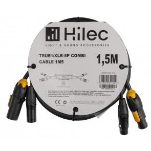 TRUE1/XLR-5P COMBI CABLE 1,5M