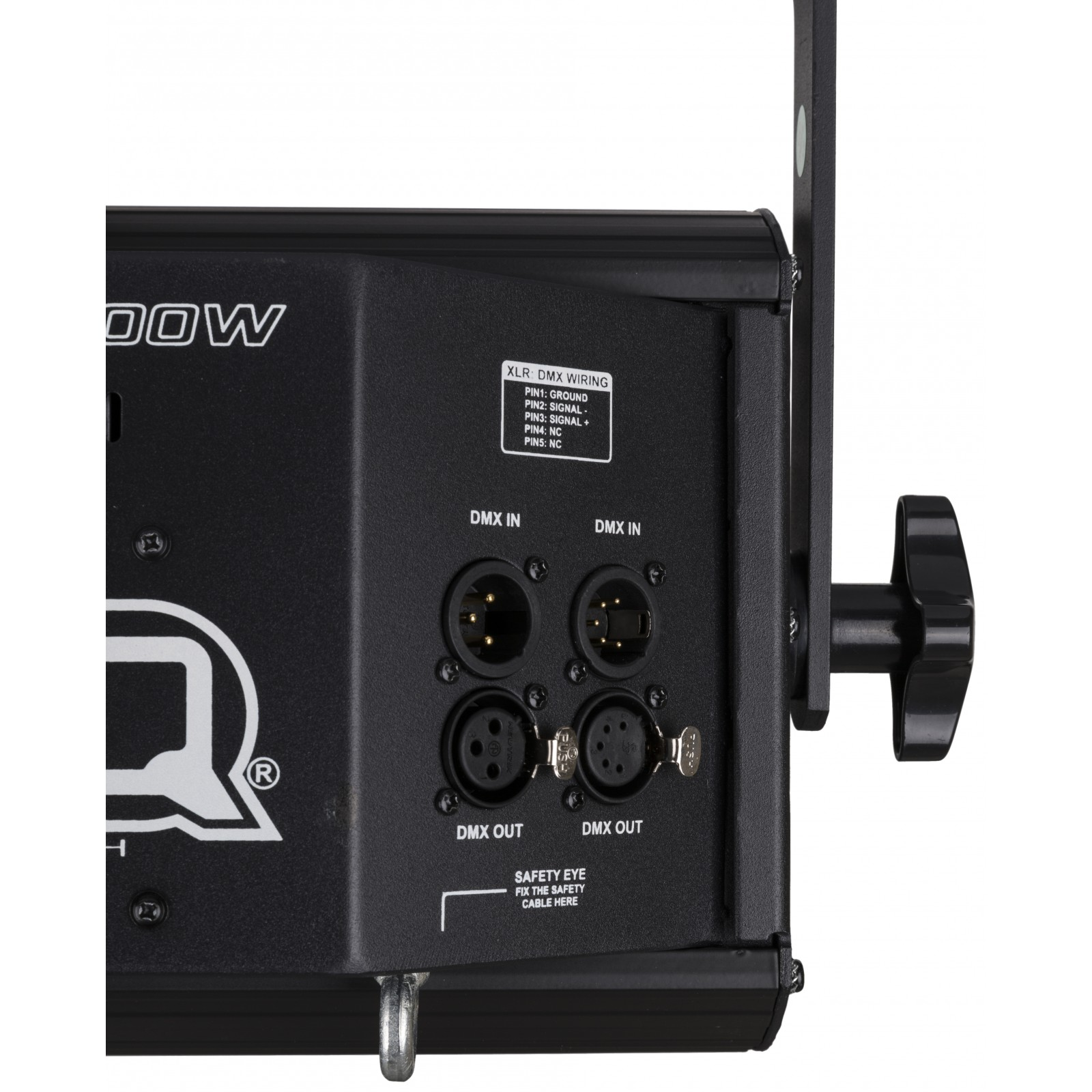 Briteq Cob Blinder 2x100w Stroboskope Dmx Xlr Wiring Diagram B2 Detail Back