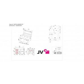 CASE FOR 3xBT-BLINDER2 IP - Dimensions