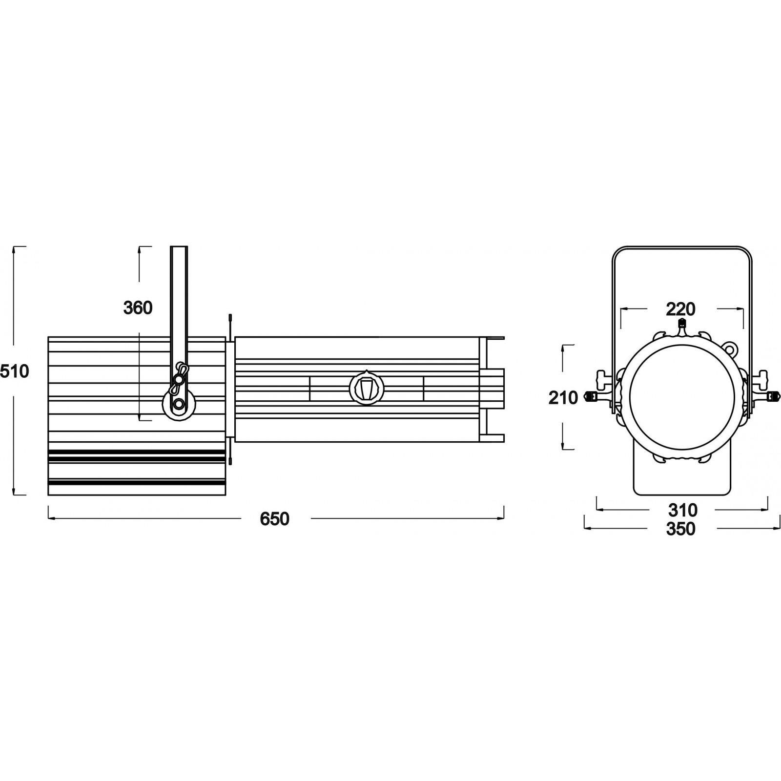 briteq - bt-profile160  optic 15-30 - theater