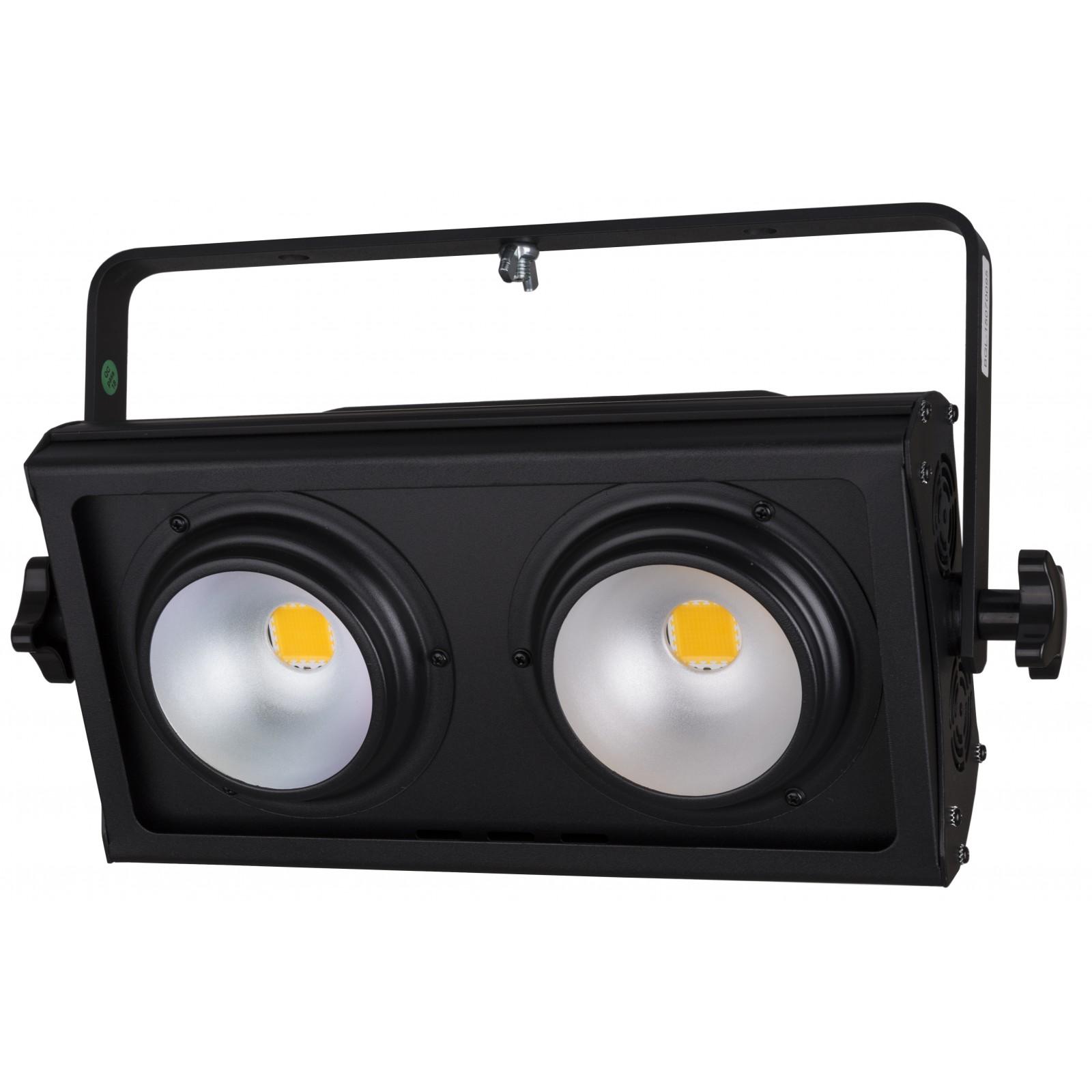 Briteq Cob Blinder 2x100w Strobe Light Effects