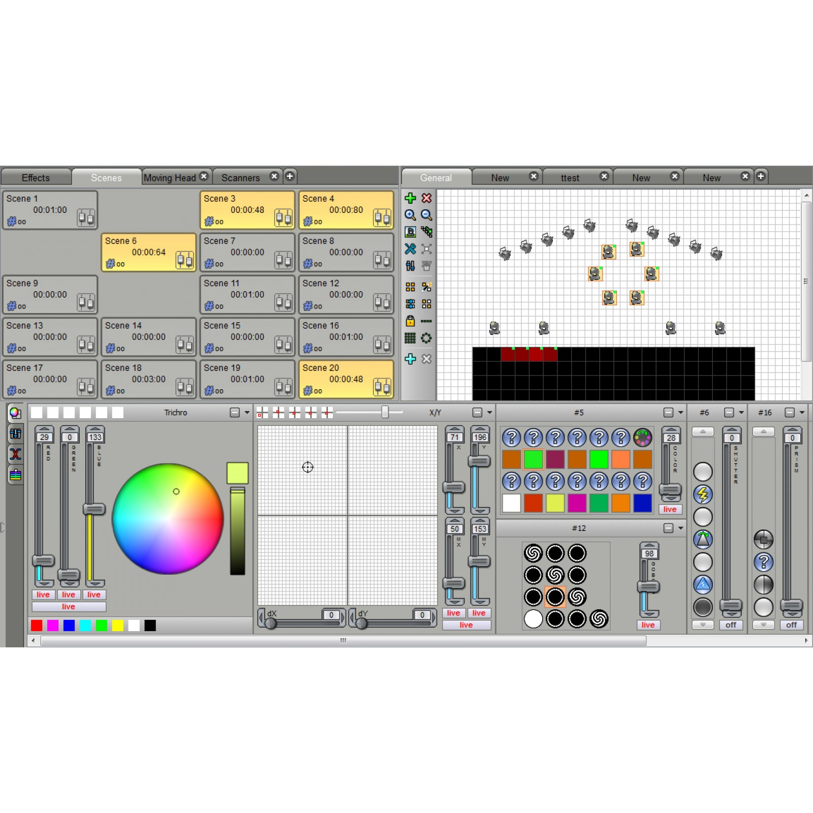Briteq - LD-1024BOX - DMX Software