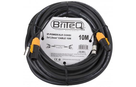 IP-POWER/XLR COMBI CABLE 10M