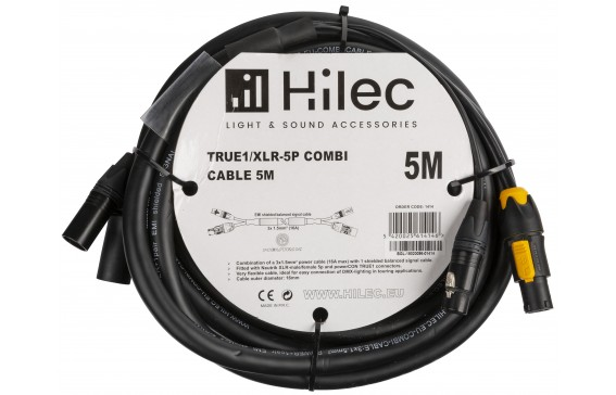 TRUE1/XLR-5P COMBI CABLE 5M