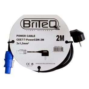 F1 POWER CABLE CEE7/7-PowerCON 2M
