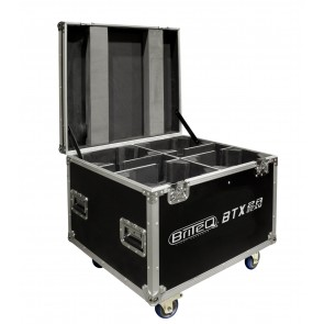CASE FOR 4x BTX-BEAM 2R - Flightcase Light