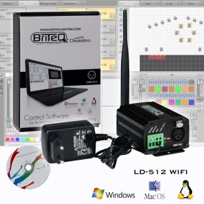 Briteq - Light Controllers DMX Software
