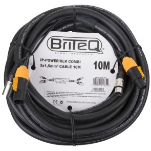 IP-POWER/XLR COMBI CABLE 10M