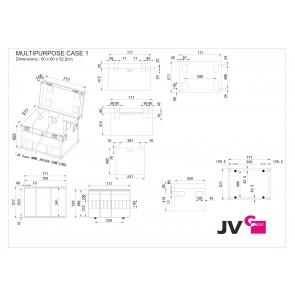 MULTIPURPOSE CASE 1 - Dimensions