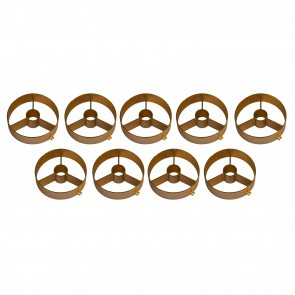 BT-NONABEAM set 9 louvers GOLD