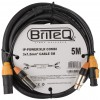 IP-POWER/XLR COMBI CABLE 5M