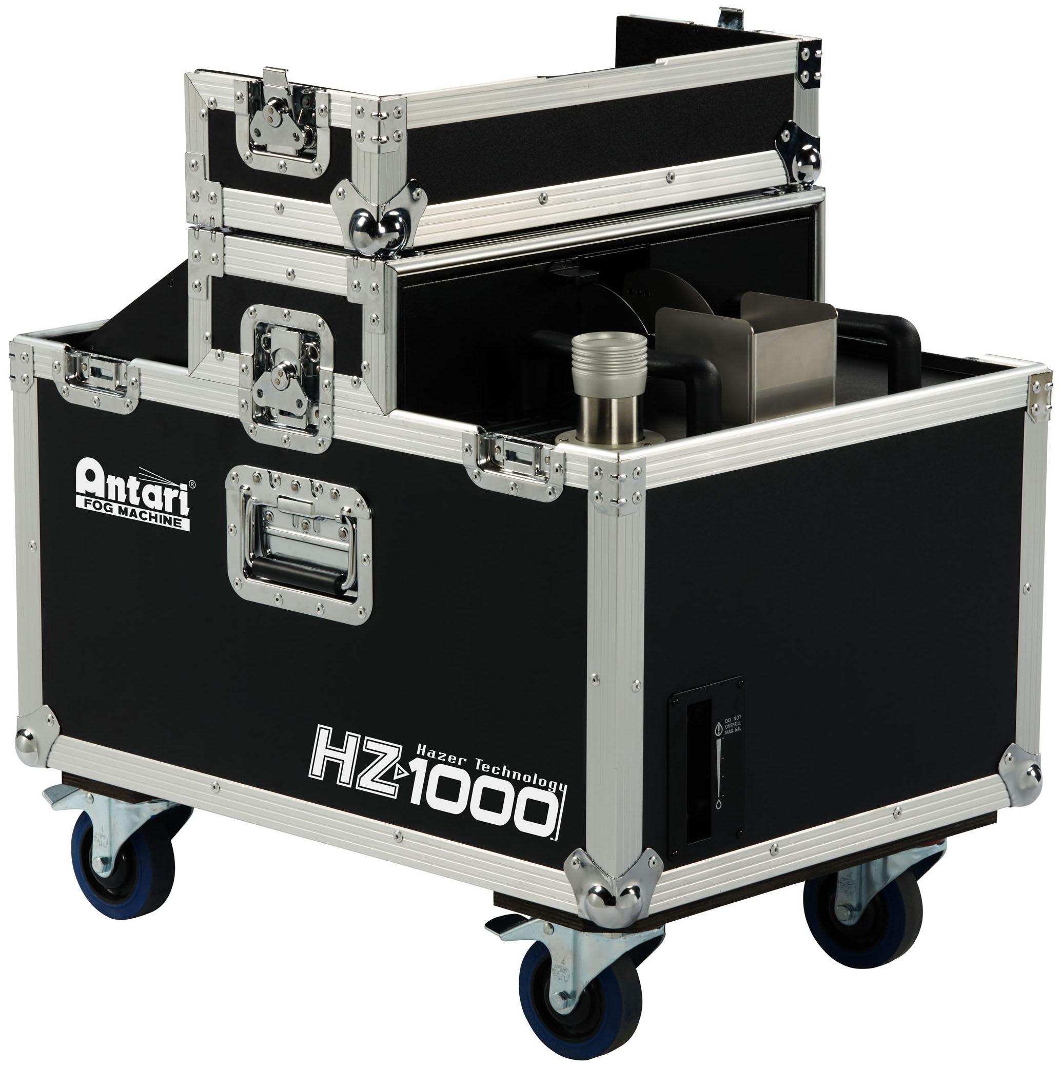 ANTARI HZ-1000 is the most advanced haze machine among AntariÔÇÖs HZ series.