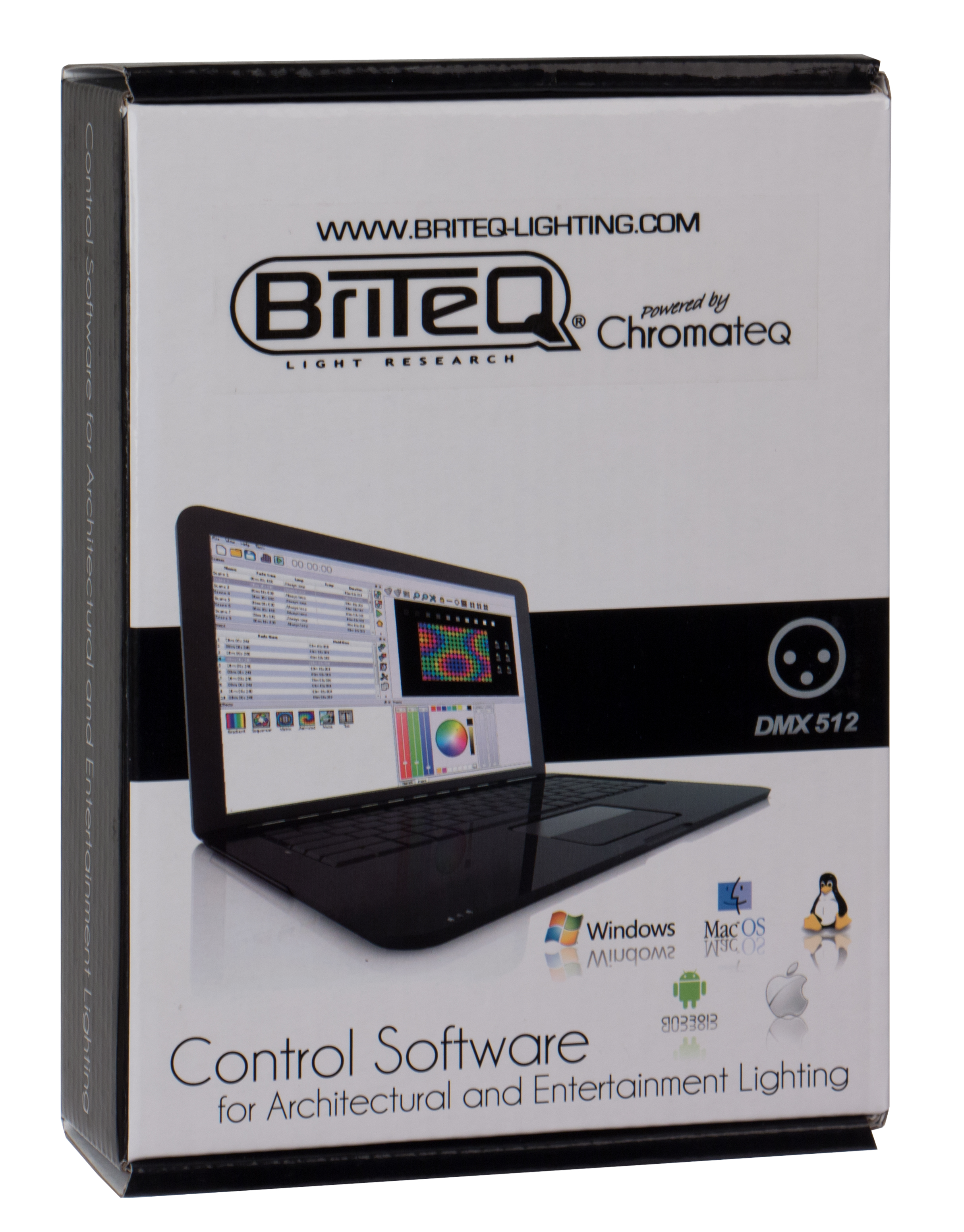 Briteq - LD-512BOX - DMX Software