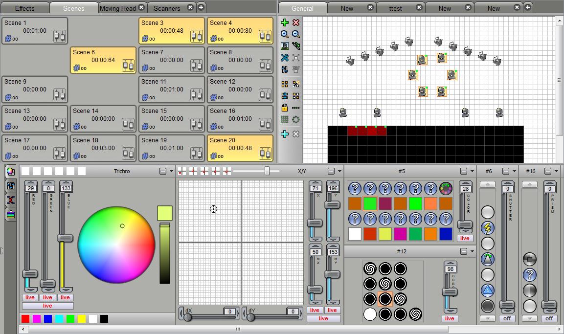 Briteq   LD 1024BOX   DMX Software