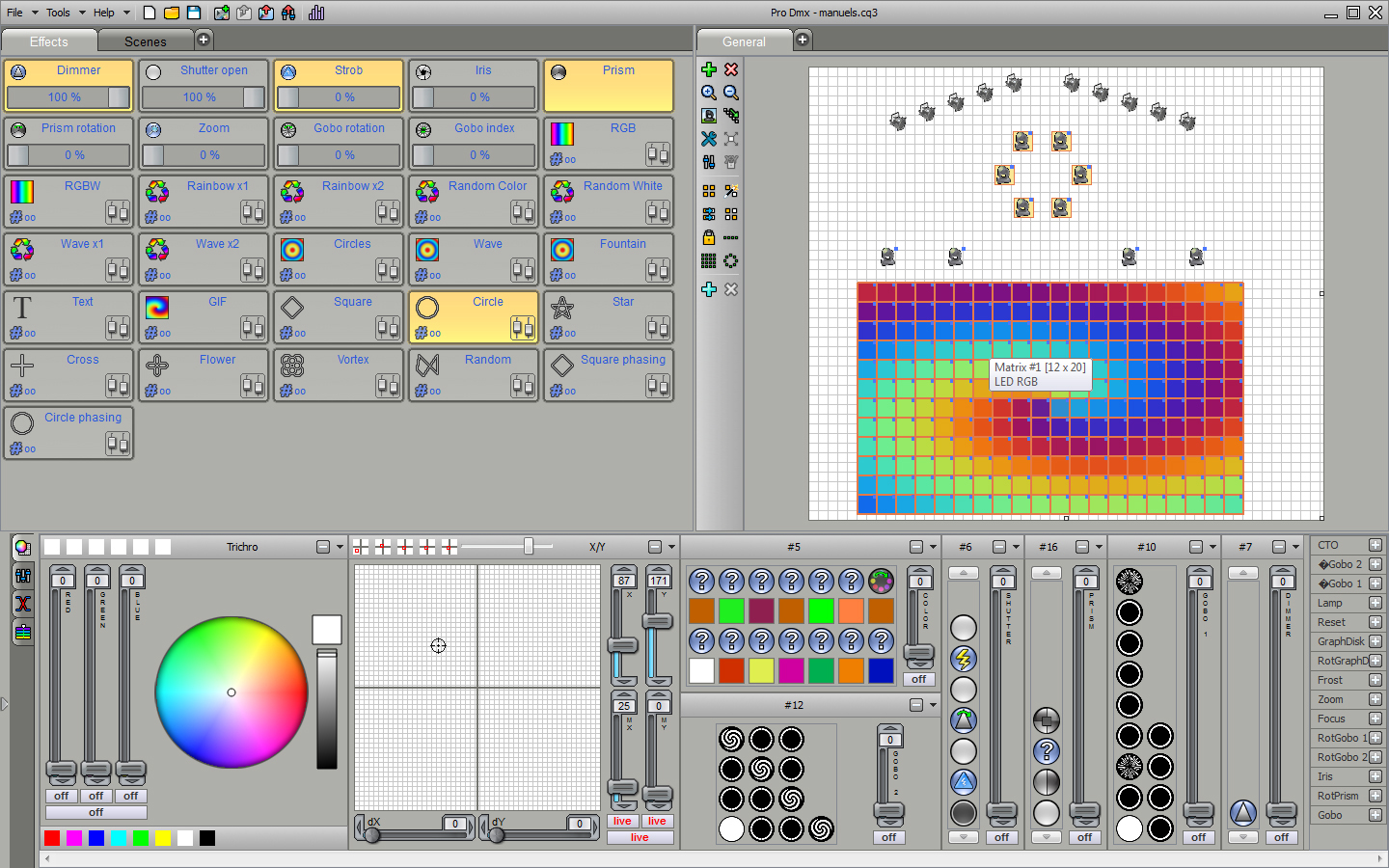 Amazing Briteq   LD 1024BOX   DMX Software Great Pictures
