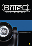 Briteq Catalog 2014-2015 - Addendum october 2016