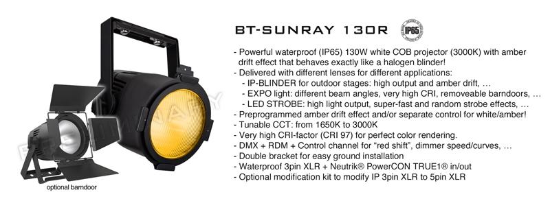 BT-SUNRAY 130R