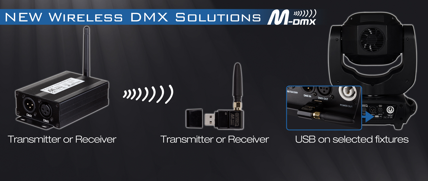 New wireless DMX solutions